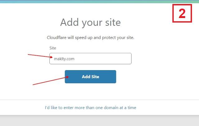 شرح استخدام خدمة CloudFlare والحفاظ على الأرشفة